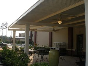 Houston Louvered Roof