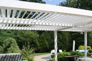 White-Louvered-Roof