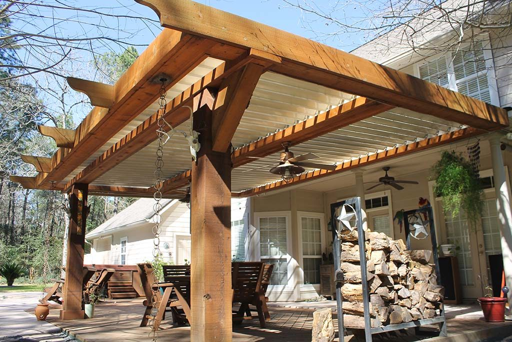 Houston Louvered Roof Patio Covers And Louvered Roof